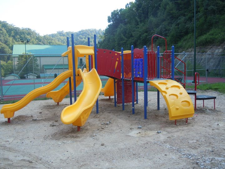 New Play Area Behind Community Center