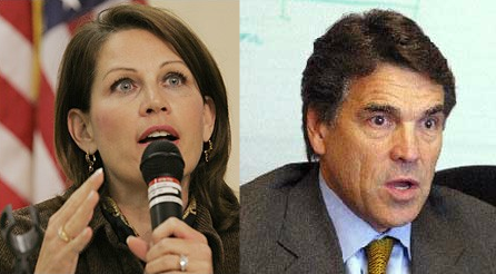 Perry and Bachmann..aka..Hardly and Barely