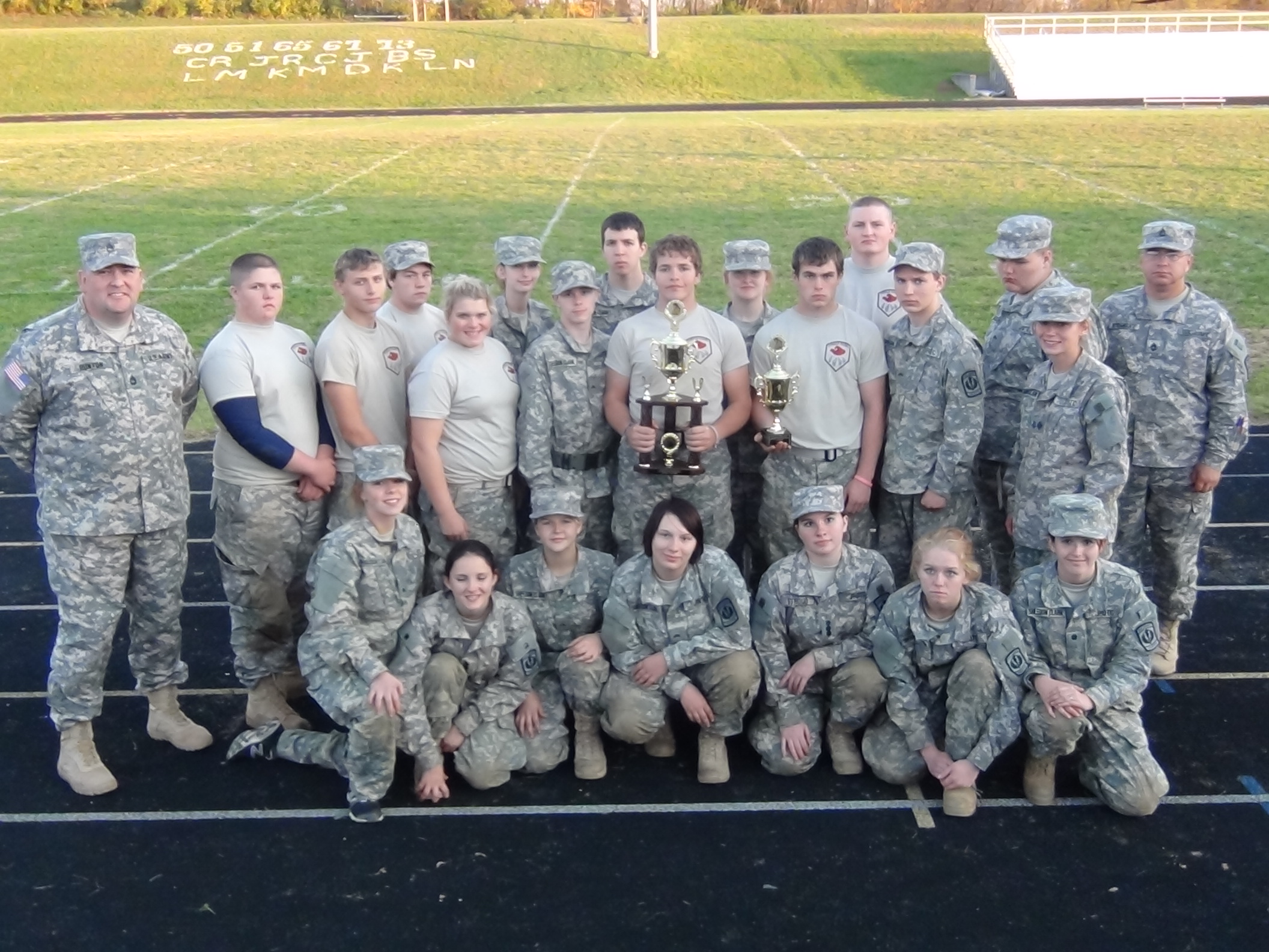 SCHS JROTC'S Wolf-pack Company Did it Again!!!!!!!!!!!!!